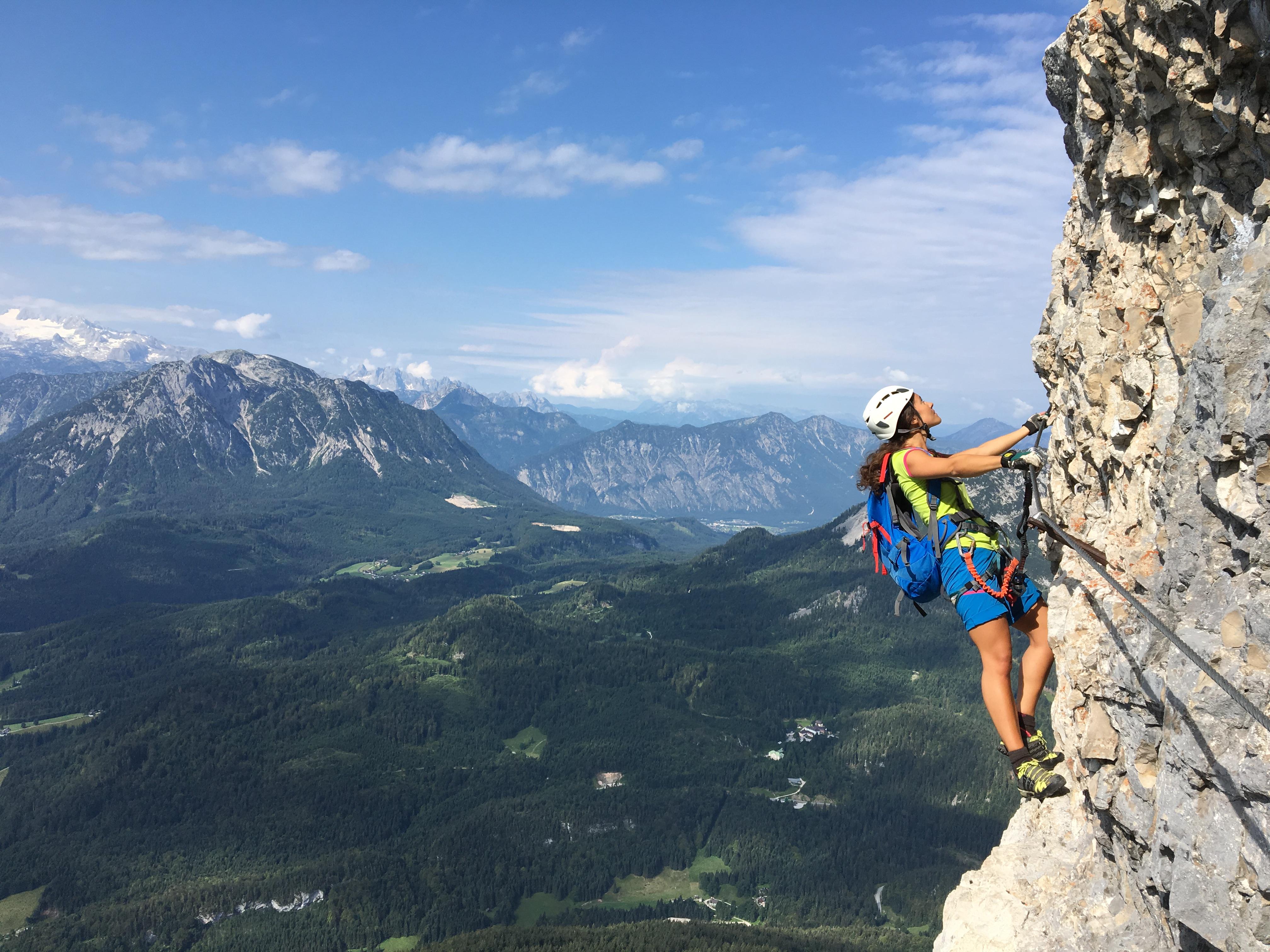 Klettersteig Loser : Klettersteig erlebnis loser altaussee u herzogin sophie charlotte